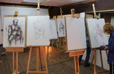 Life Drawing- group work