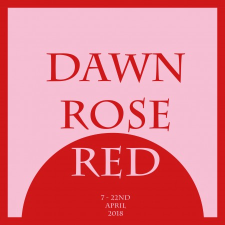 Dawn Rose Red - Square design