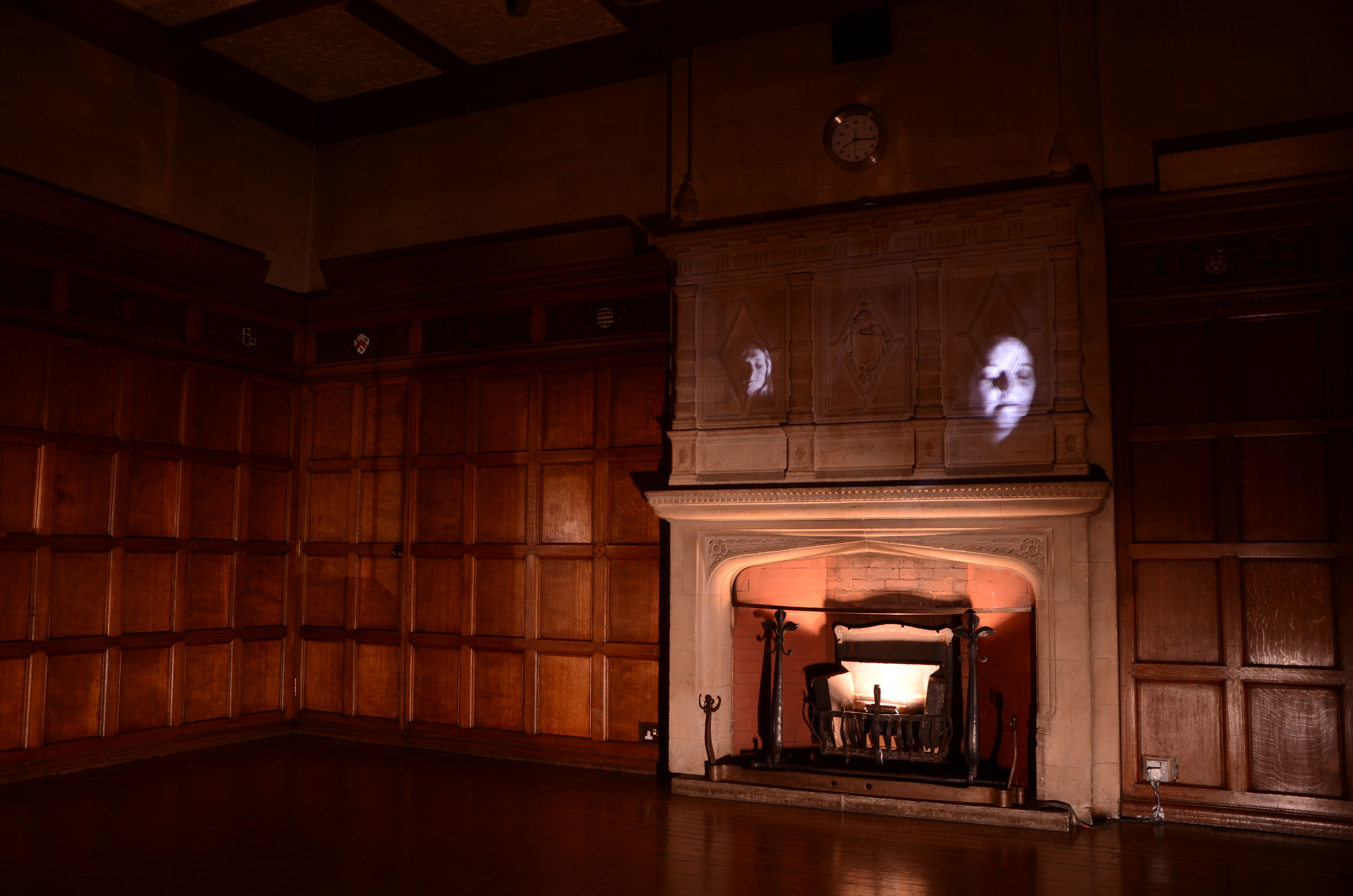 'The Watchfulness of Justice' (Interactive installation) Photo: Hannah Wilmshurst