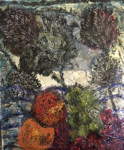 Deborah Hudson - Fruit and teasels