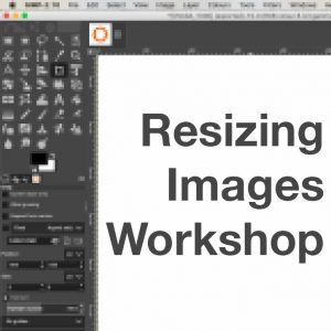 Resizing Images Workshop