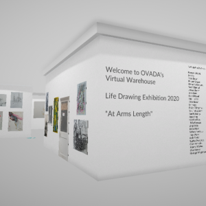 virtual Life drawing exhibition