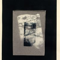 Lithograph and collage
